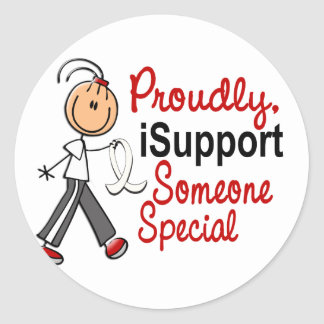 I Support Someone Special SFT (Bone / Lung Cancer) Stickers