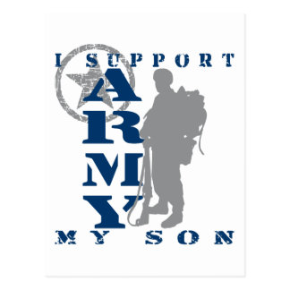 I Support Son 2 - ARMY Postcard