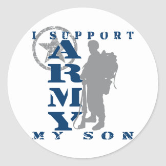 I Support Son 2 - ARMY Stickers