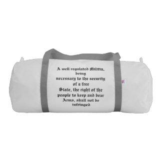 I support the 2nd Amendment Duffle Bag