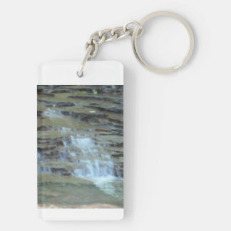 I support the art and writing of Linda M. Crate Keychain