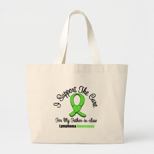 I Support The Cure For Father-in-Law Bag