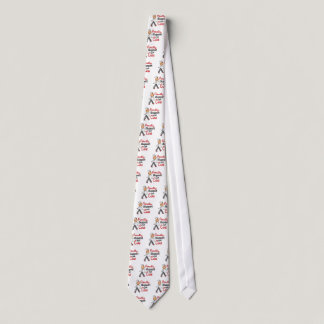 I Support The Cure SFT (Bone / Lung Cancer) Neck Tie