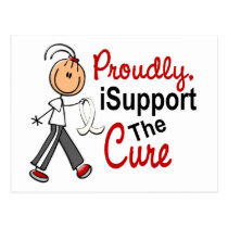 I Support The Cure SFT (Bone / Lung Cancer) Postcard