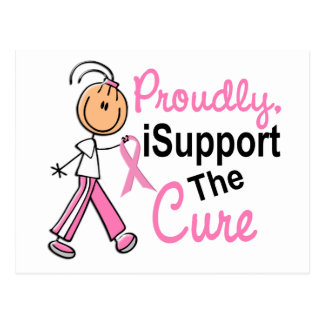 I Support The Cure SFT Breast Cancer Postcard
