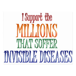 I support the millions... postcard