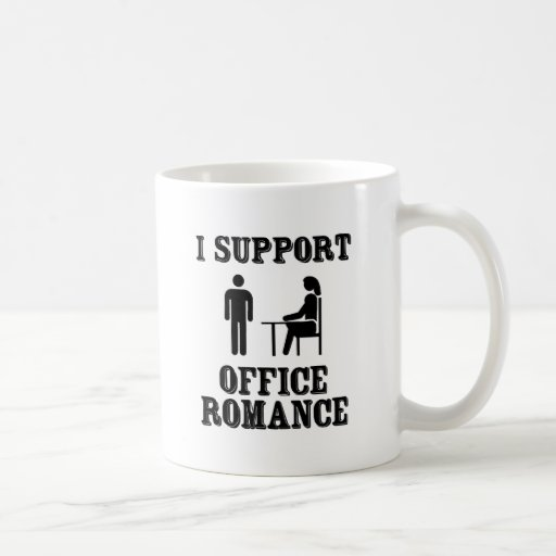 I Support The Office Romance Coffee Mug