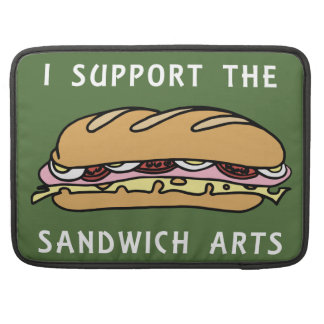 I Support The Sandwich Arts MacBook Pro Sleeve