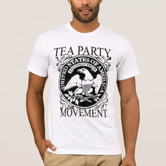 I support the Tea Party Eagle T-shirt