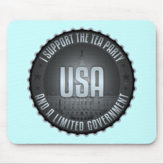 I Support The Tea Party Mouse Pad