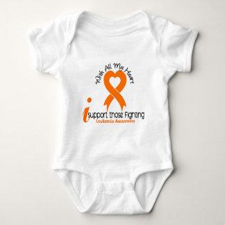 I Support Those Fighting Leukemia Baby Bodysuit