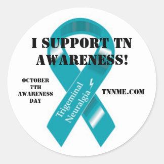 I support tn awareness sticker