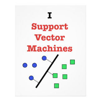 I Support Vector Machines Letterhead
