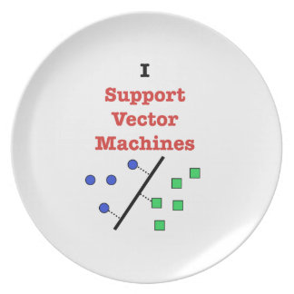 I Support Vector Machines Melamine Plate