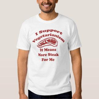 I Support Vegetarianism T-Shirt