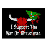 I Support War On Christmas Business Cards