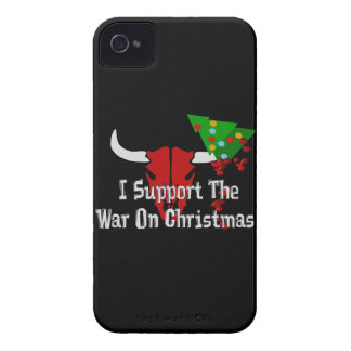 I Support War On Christmas iPhone 4 Case-Mate Cases