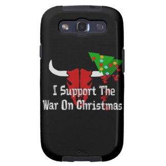 I Support War On Christmas Galaxy S3 Covers