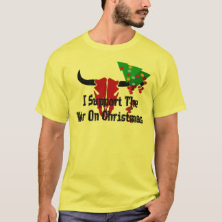 I Support War On Christmas T-Shirt