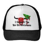 I Support War On Christmas Trucker Hat