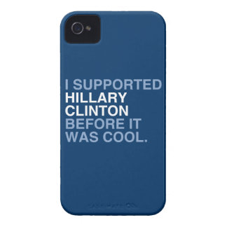 I SUPPORTED HILLARY CLINTON BEFORE IT WAS COOL iPhone 4 COVER