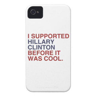 I SUPPORTED HILLARY CLINTON BEFORE IT WAS COOL iPhone 4 Case-Mate CASE