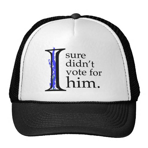 I Sure Didn't Vote For Him Hat
