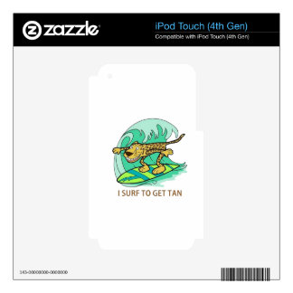I Surf Decals For iPod Touch 4G