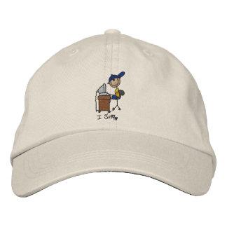 I Surf Embroidered Hat