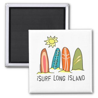 I Surf Long Island magnet