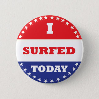 I Surfed Today Button