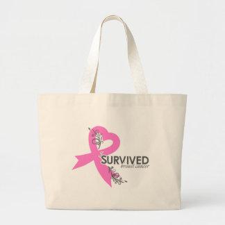 I Surived Breast Cancer Tote Bag