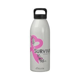 I Surived Breast Cancer Drinking Bottle