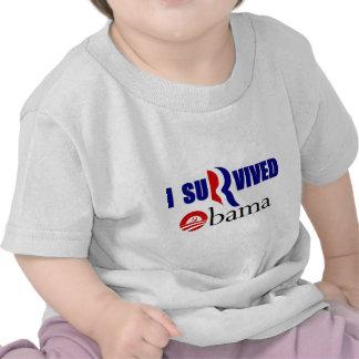 I SuRived Obama_stahls.png Shirt