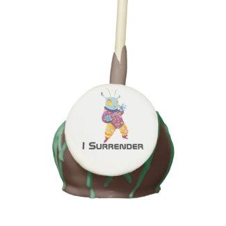 I Surrender Cake Pop