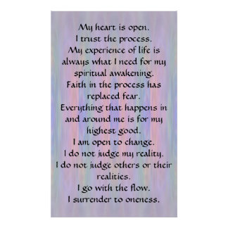 I Surrender to Oneness Print