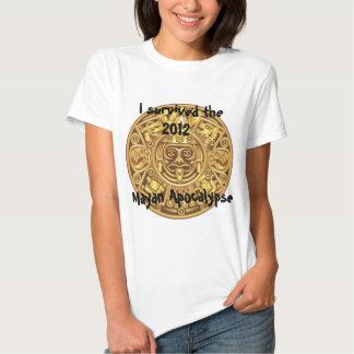 I survied the 2012 Mayan Apocalypse Tee Shirt