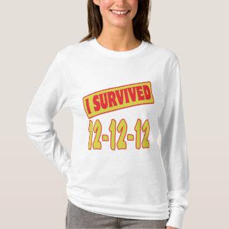 I SURVIVED 12-12-12 T-Shirt