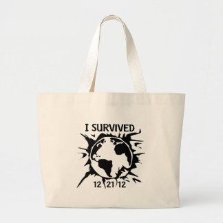 I Survived 12-21-12 End of the World Bags