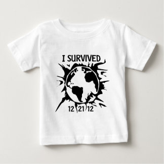 """""""I Survived 12-21-12"""" End of the World Tees"""
