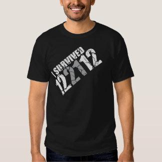 I survived 12/21/12 tee shirt