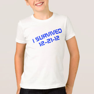 I Survived 12-21-12 Youth T-Shirt
