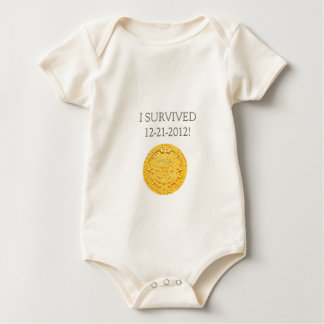 """I Survived 12-21-2012"" Baby Bodysuit"