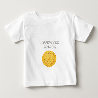 """I Survived 12-21-2012"" Baby T-Shirt"