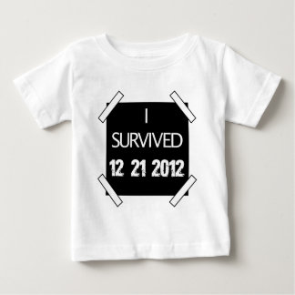 I SURVIVED 12/21/2012 BABY T-Shirt