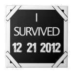 I SURVIVED 12.21.2012! CERAMIC TILES