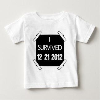 I SURVIVED 12/21/2012 T SHIRT