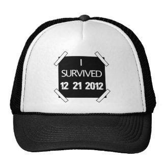 I SURVIVED 12/21/2012 TRUCKER HAT