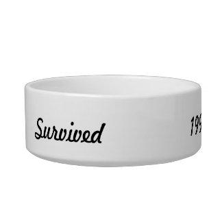 I survived 1999! bowl