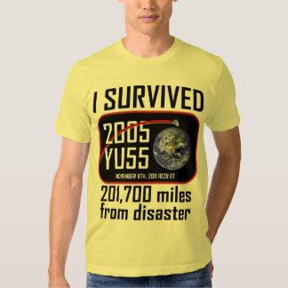 I Survived 2005 YU55 Tees